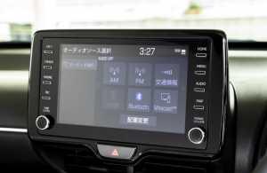 Audio display yang menjadi standar di Toyota.