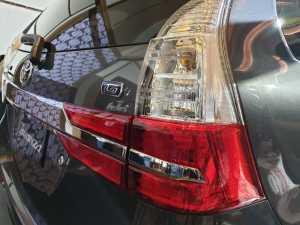 Ubahan di bagian belakang juga minimalis, berupa desain baru lampu kombinasi (Uzone.id - Bagja)