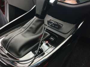 Transmisi CVT 8 speed, juga ada tombol pilihan mode berkendara, ECO dan Sport (Uzone.id - Bagja)