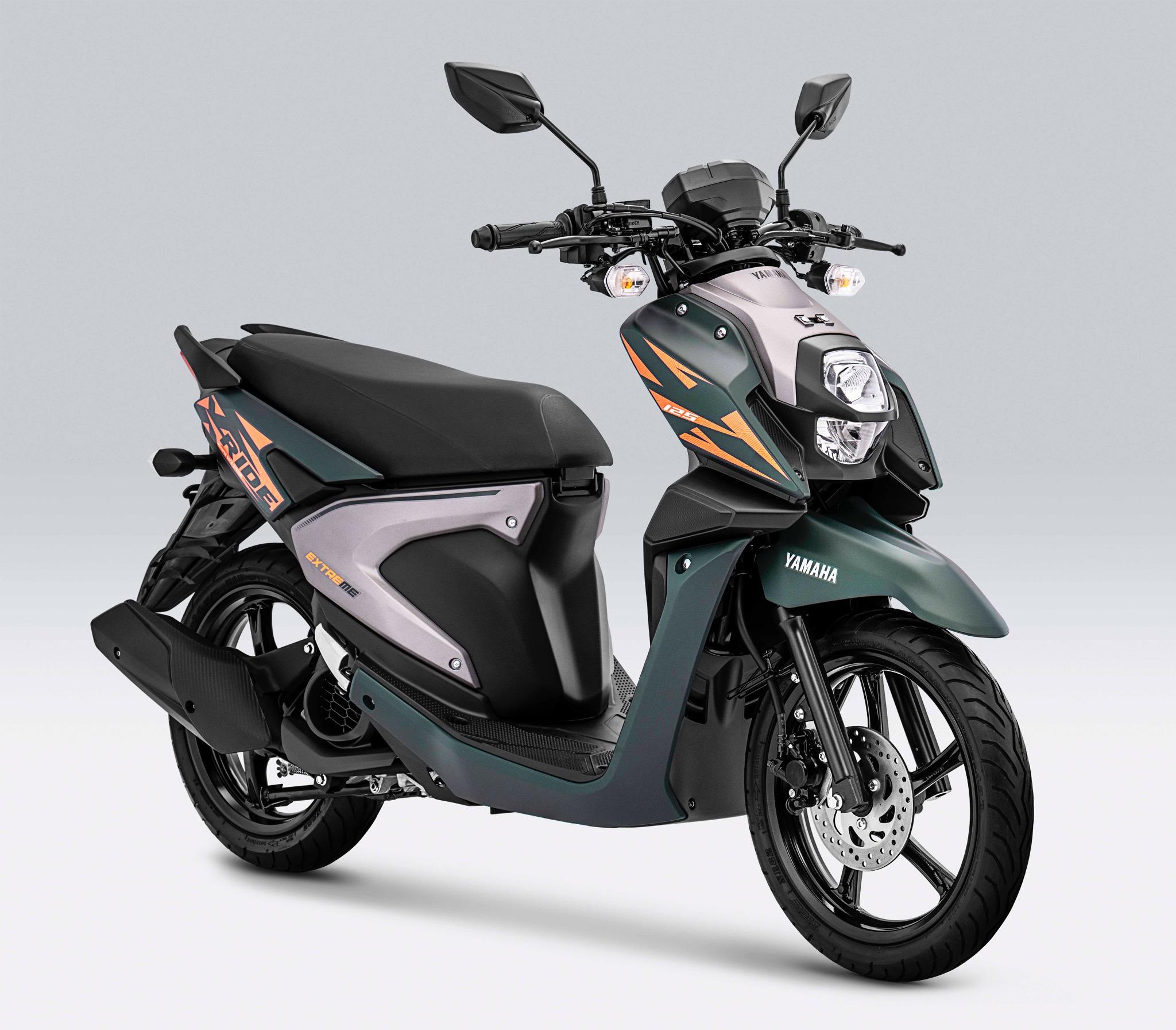 Warna Baru Yamaha X-Ride, Hijau dan Biru