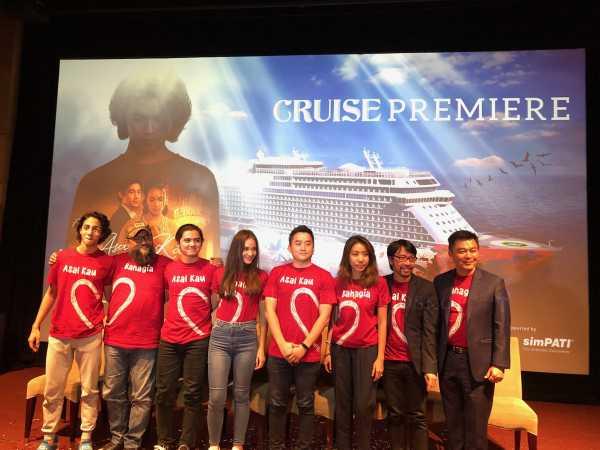 Genting Dream, Kapal Pesiar yang Jadi Tempat Gala Premiere Film Asal Kau Bahagia