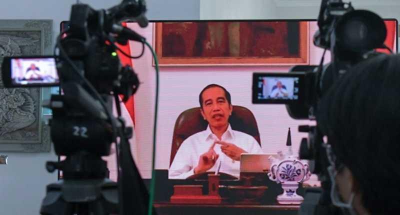 Netizen Ingin #LockDownIndonesia, Ini 4 Jawaban Jokowi