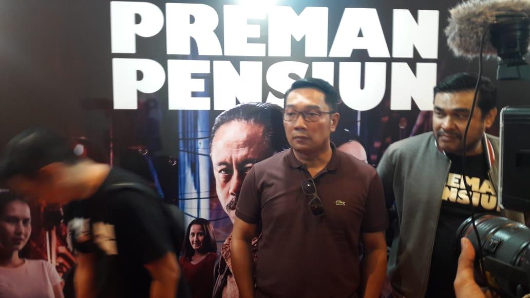 Usai Nonton 3 Kata Ridwan Kamil Untuk Film Preman Pensiun