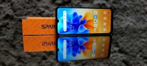 Spark 7 NFC pakai Chipset Helio A25, Memori 2+32GB (Foto: Tomi Tresnady / Uzone.id)