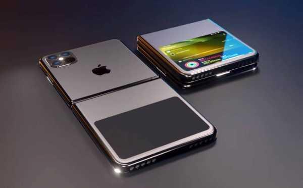 Kalau Apple Bikin iPhone Layar Lipat, Begini Tampangnya?