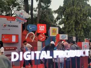 Acara peluncuran uang elektronik LinkAja