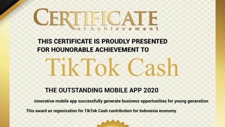 Apa Itu TikTok Cash ? Platform Bagi-bagi Uang yang Diblokir Kominfo