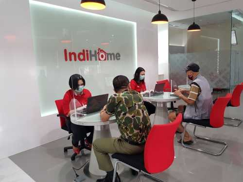 Q1 2020, Pendapatan Konsolidasi Telkom Rp34,19 Triliun