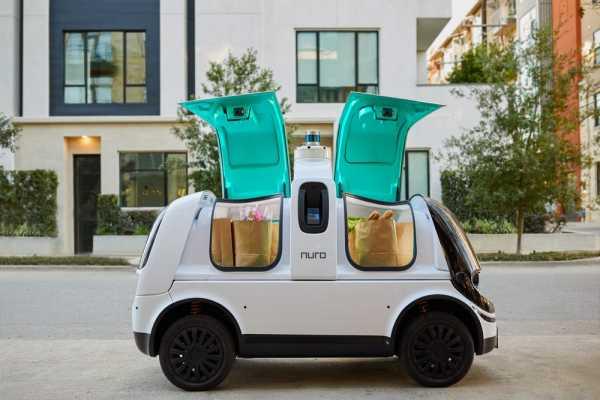 Nuro, Mobil Robotik Pertama yang Siap Jadi Kurir Belanjaan di 2021
