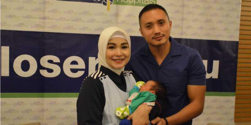 Berkah Ramadan, Soraya Larasati Lahirkan Putra ke Dua