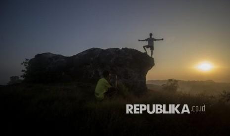 Bukit Jaddih Pesona Bekas Galian Kapur yang Instagramable