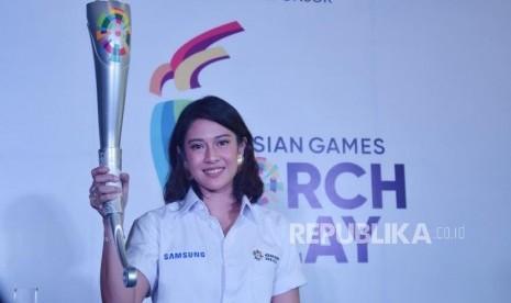 Dian Sasto akan Bawa Obor Asian Games di Solo