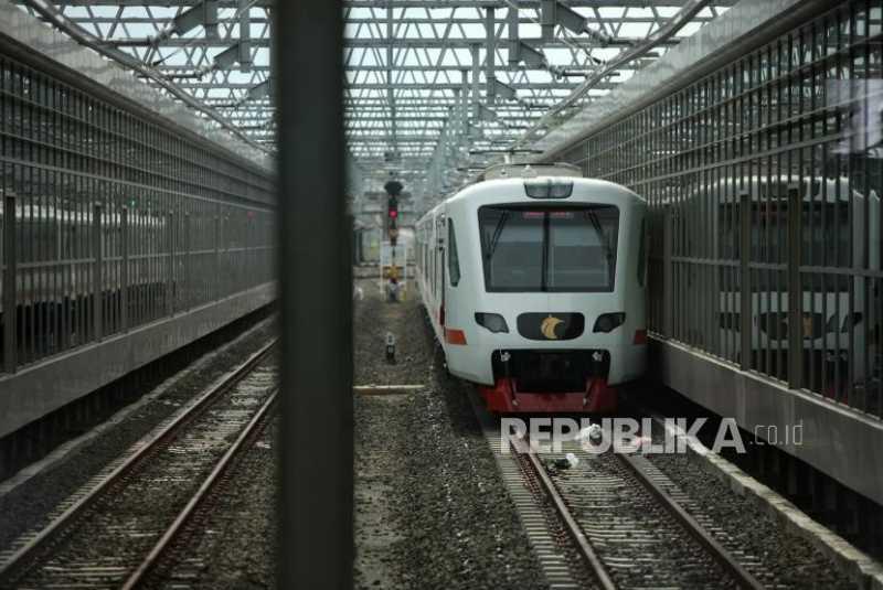 Waktu Tempuh Kereta Bandara Soekarno-Hatta Dipercepat