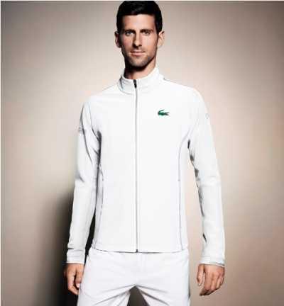 Novak Djokovic Menjadi Ikon Terbaru Lacoste