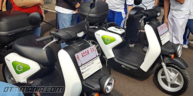 Sepeda Motor Listrik Honda Lahir Tahun Depan