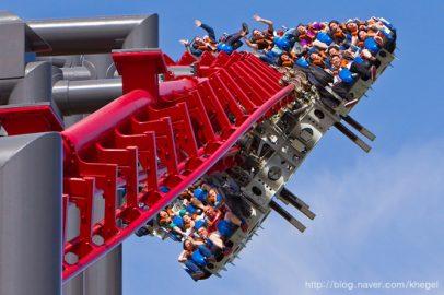 Ibukota Roller Coaster Dunia, Destinasi Wajib di Amerika