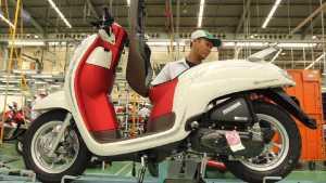 Honda Scoopy Merah-Putih Sambut Hari Kemerdekaan