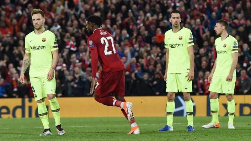 Singkirkan Barcelona, Liverpool Kehilangan Rp84 Miliar