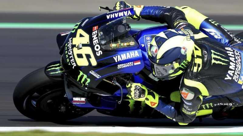 Kualifikasi MotoGP Inggris: Marquez Pole, Rossi Kedua