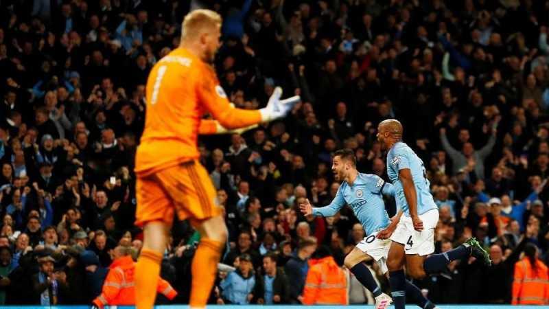 Hasil Liga Inggris: Manchester City Kalahkan Leicester