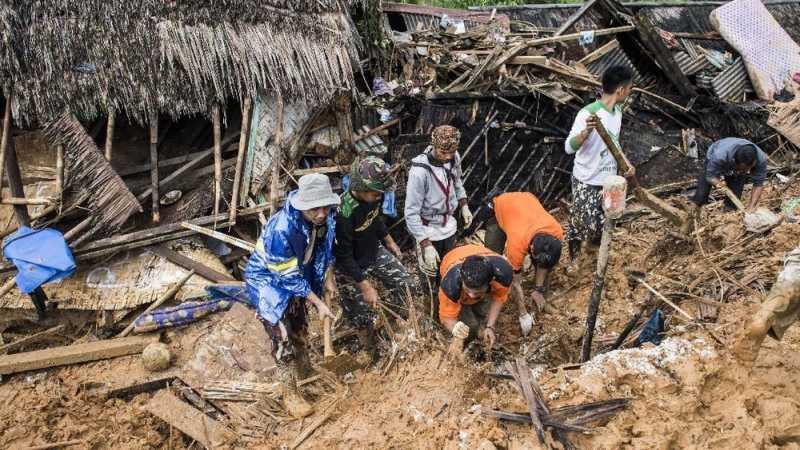 40,90 Juta Orang Indonesia Tinggal di Wilayah Longsor
