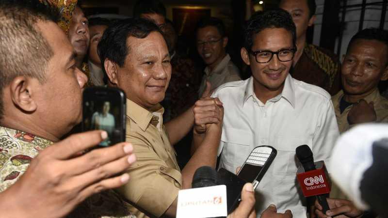 Sandiaga Uno Jadi Cawapres Prabowo Subianto