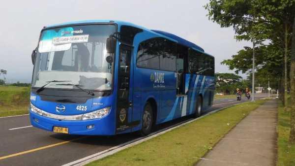 Perum Damri Siapkan 150 Bus Cadangan Hadapi Sistem Satu Arah
