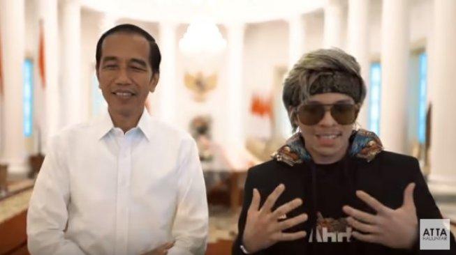 Jokowi Sebut Atta Halilintar Anak Ke-4, Begini Reaksi Kaesang dan Gibran