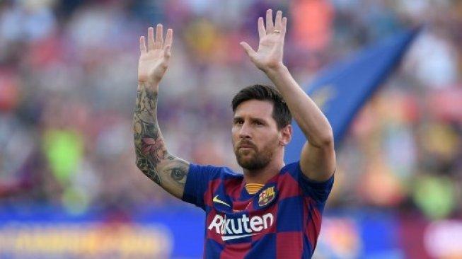 Lionel Messi Diisukan Akan Pergi Dari Klub, Presiden Barcelona Tak Khawatir