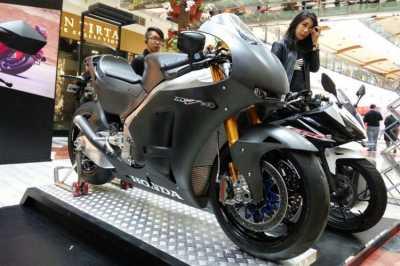 Sepeda Motor Rp 9 Miliar Mejeng di Pondok Indah