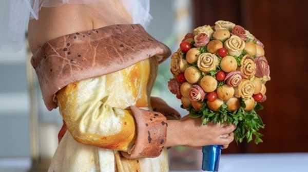 Unik, Pernikahan Tema Pizza Buat Pasangan yang Anti Mainstream