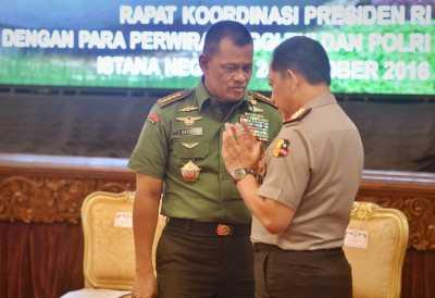 Panglima TNI Minta Maaf Terkait Insiden TNI Pukul Polisi