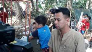 Raffi Ahmad Sembelih Sendiri Kambing Kurban!