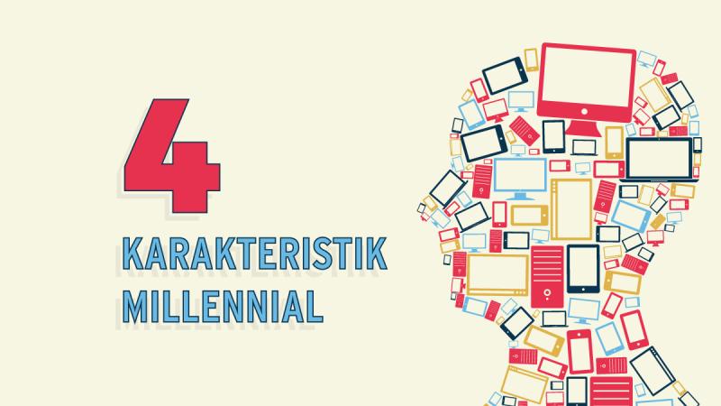 4 Karakteristik Millennial yang Perlu Diketahui Bagian Pemasaran