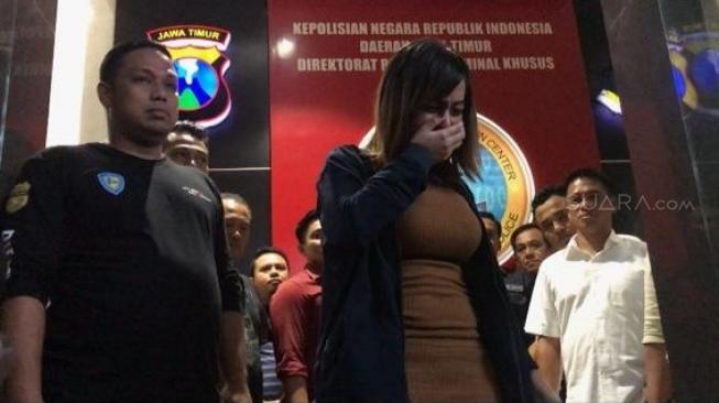 Terseret Kasus Prostitusi, Avriellya Shaqila : Saya Salah, Saya Khilaf