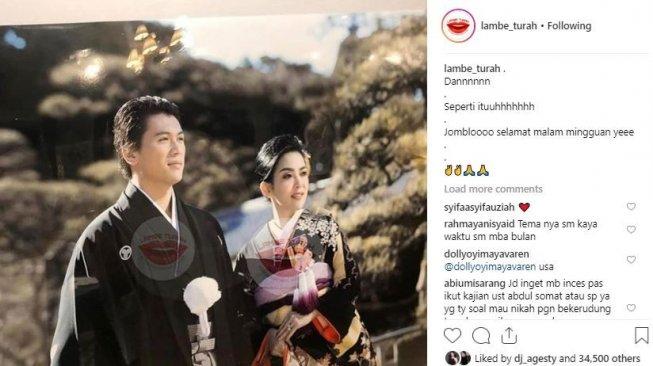 Beda Jauh, Makna Kimono yang Dipakai Syahrini dan Luna Maya saat di Jepang