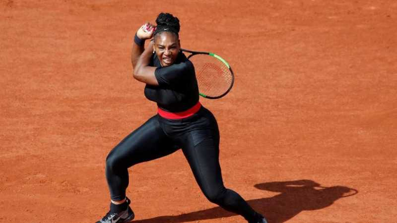 Serena Williams Berkostum Black Panther di Perancis Terbuka