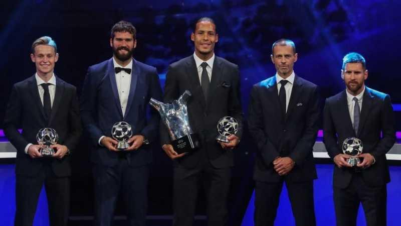 Ronaldo, Messi, dan Van Dijk Nomine Penghargaan The Best FIFA