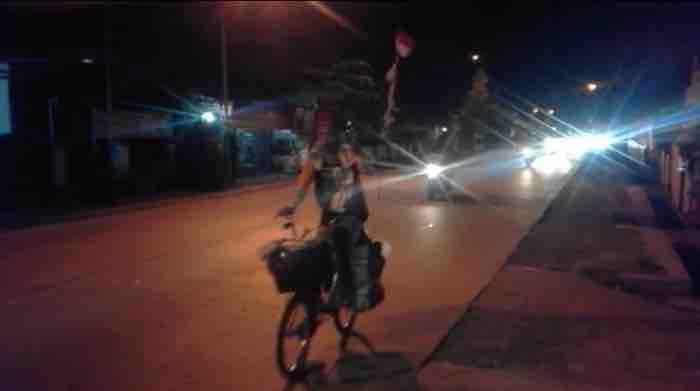 Demi Pulang Kampung, Salikun Gowes dari Jakarta sampai Kebumen
