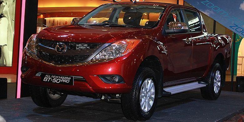 Mazda BT 50 Dijual Berdasarkan Pesanan