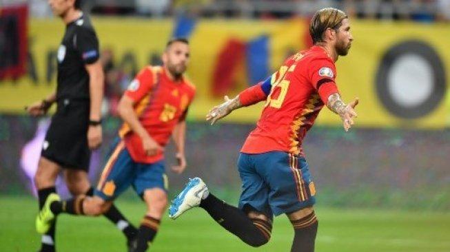 Puja-puji untuk Sergio Ramos, Sang Role Model Timnas Spanyol