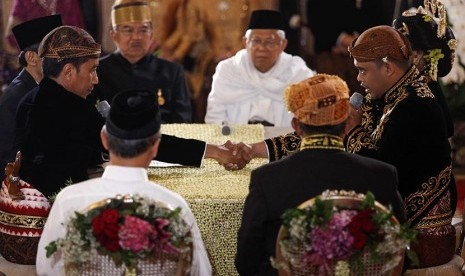 Lima Ribu Personel Amankan Acara Bobby-Kahiyang di Medan