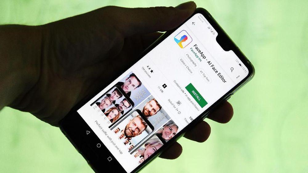 10 Ribu Orang Indonesia Tertipu Aplikasi FaceApp Abal-abal