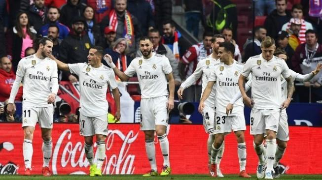 Bungkam Atletico Madrid, Real Madrid Naik ke Posisi Dua