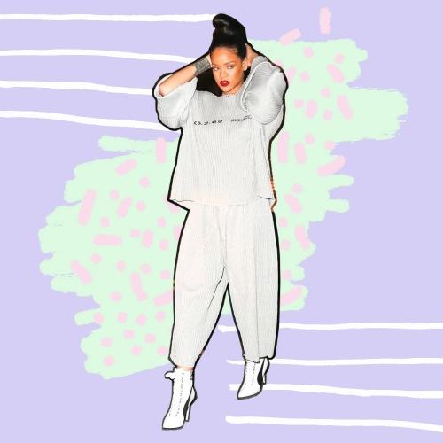 Tiru 5 Cara Rihanna Bergaya