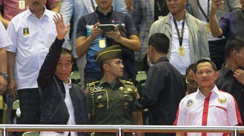 Jokowi Ucapkan Selamat untuk Arema
