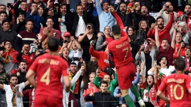 Cetak Hat-trick Lawan Swiss, Ronaldo Bawa Portugal ke Final