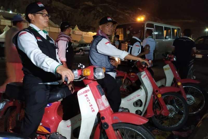 Keliling Mina Bersama Motor Astuti