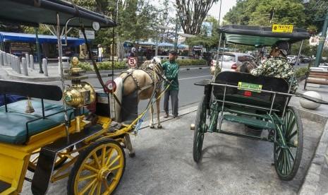 Grab Andong Resmi Layani Wisatawan Malioboro