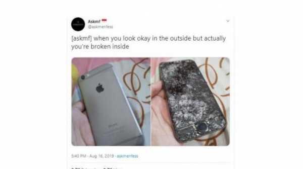 Netizen kok Malah 'Lomba' Pamer Layar iPhone Remuk Gini?